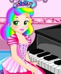 Princess Juliet Piano Lesson!