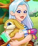 Crystal Adopts a Bunny!