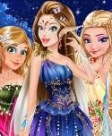 Winter Fairies Princesses HTML5