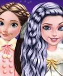 Princesses Go Ice Skating!