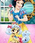 Snow White and Muffin Palace Pets Palace Pets