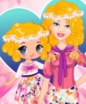 Barbie And Daughter Fashionistas