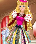 Princess Valentines Patchwork Dress