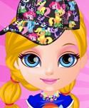 Baby Barbie Design My Little Pony Dress