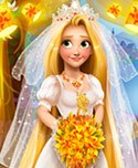 Blonde Princess Wedding Fashion!