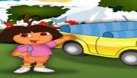 Dory at Car Show