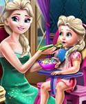 Elsa Mommy Toddler Feed!