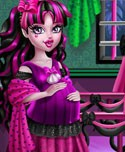 Pregnant Draculaura Maternity Deco