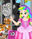 Princess Juliet Escapes The Zoo!
