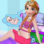 Pregnant Anna Dressup